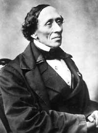 H. C. Andersen, forfatter.